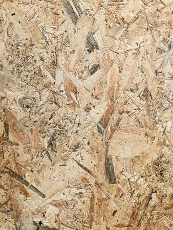 OSB oriented strand board surface texture. Background for wood and craft feeling. 写真素材