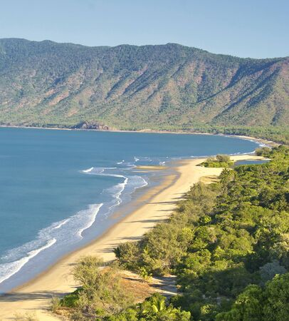 cairns: Cairns to Port Douglas Coast in Queensland, Australia Stock Photo