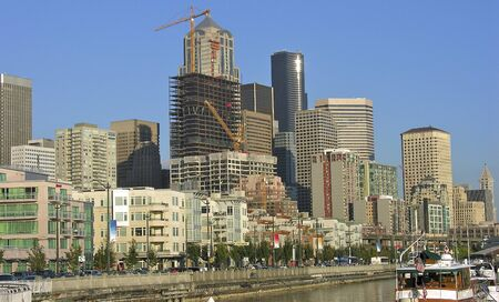 Buildings of Seattle, Washington photo