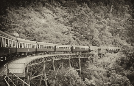 View from the Kuranda-Cairns Train in Australia photo