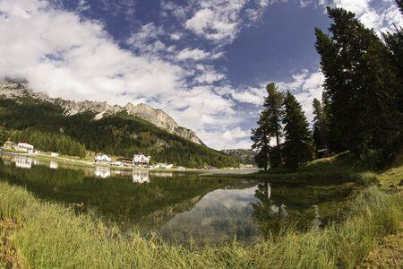 Lake of Misurina on Dolomites Mountains, Italy Stock Photo - 12171613