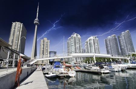 Stormy Sky over Toronto, Canada