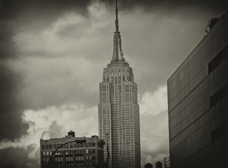 Majesty of the Empire State Building, New York City Stock Photo - 12178137