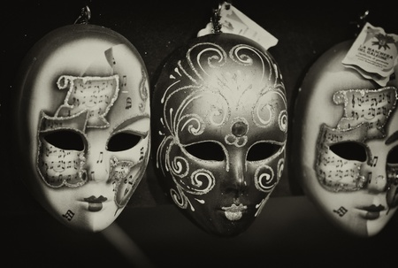 Masks in a Tuscan Market, Italy Stock Photo - 12169759