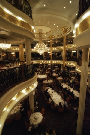 Cruise Ship Interior in the Caribbean