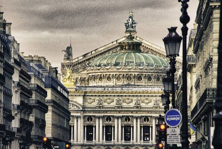 Opera Theatre in Paris, France