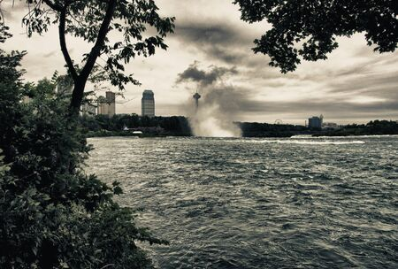 Waterfalls at Niagara, Ontario