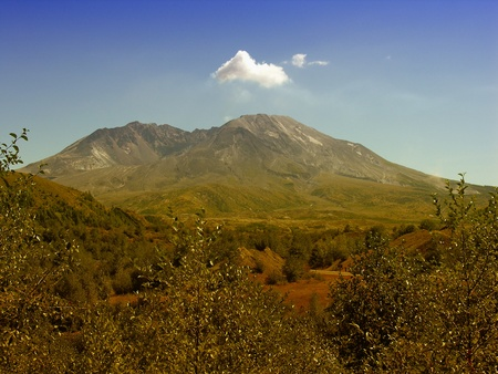 Volcano of Mount St Helens, Washington photo