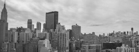Aerial view of New York City Skyline, U.S.A. photo