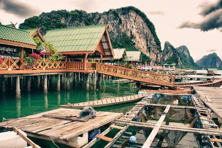 Koh Panyee Island in Thailand Stock Photo - 13237727