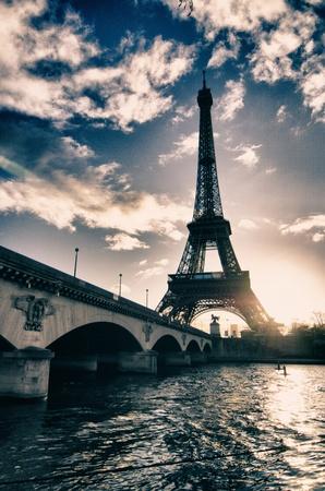 paris  france: Paris Colors in Winter, France