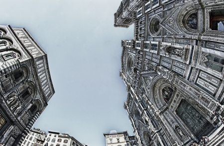 Piazza del Duomo in Florence, Italy Stock Photo - 13703137