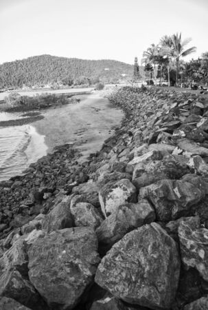 airlie: Airlie Beach Coast in Queensland, Australia