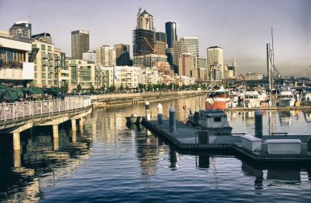 Buildings of Seattle, Washington photo