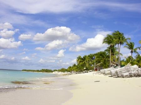 santo: Caribbean Beach in Santo Domingo, Republica Dominicana