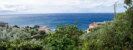 Coast of Liguria during Spring, Italy photo