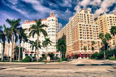 Colors of Miami in Florida, U.S.A.