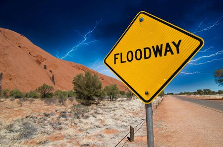 Storm, Signs and Symbols in the Australian Outback, Northern Territory photo