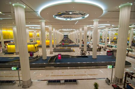 Airport Interior in Dubai International