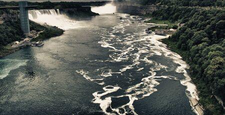 Colors and Vegetation of Niagara Falls, Ontario photo
