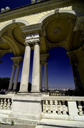 Arches of The Gloriette in Schonbrunn Castle, Vienna