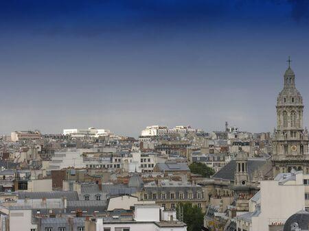 Vie of Montmartre in Paris, France Stock Photo - 14375276