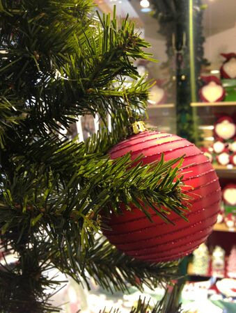 christmas decorations and colors italy stock photo 14941021