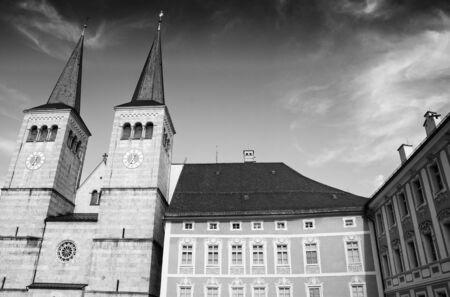 Typical German Architecture, Regensburg photo