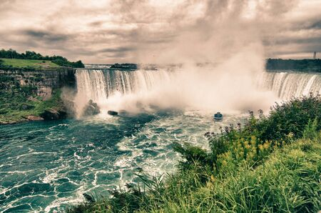 Waterfalls at Niagara, Ontario photo