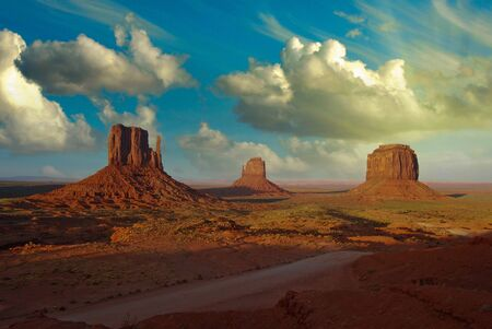 state of arizona: Rocks and Colors of Monument Valley, U.S.A.