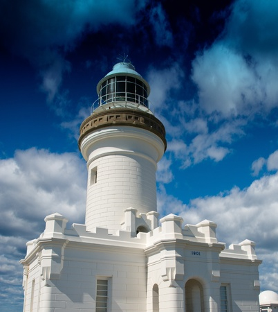 byron: Byron Bay Lighthouse in Australia Stock Photo