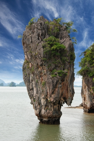 Giant Rock of James Bond Island, Thaliand photo
