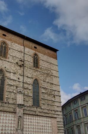 Buildings of Perugia, Umbria photo