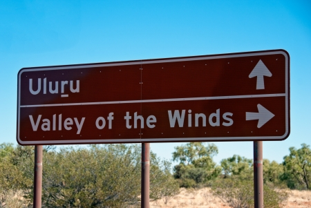 Signs and Symbols in the Australian Outback photo