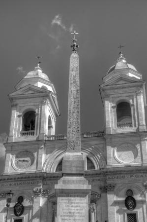 monti: Trinita dei Monti, Rome, Italy