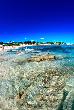 Crystal Waters of Corsica Coast in France photo