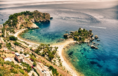 Coast of Sicily near Palermo in Italy photo