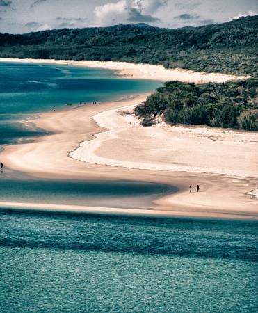Paradise of Whitsunday Islands National Park, Australia photo