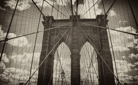 Brooklyn Bridge Architecture, New York City
