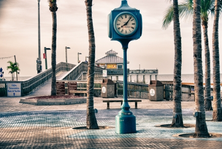 myers: Pier in Fort Myers, U.S.A.
