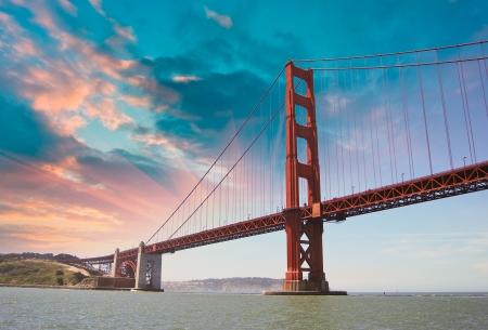 Dramatic Sky over Golden Gate Bridge, San Francisco Stock Photo - 20019162