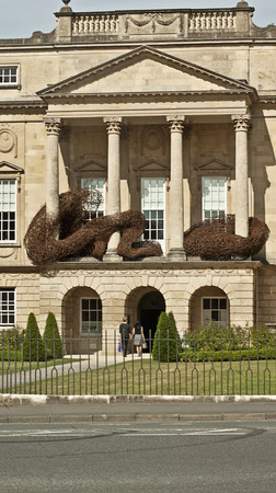 antiquities: Holburne Museum in Bath Spa, England. A beautifully designed museum with an incredible collection of art, antiquities, including paintings,  sculpture and jewellry.