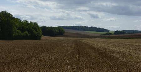 bourgogne: Cultivated land in Bourgogne