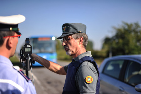 law enforcement: monitoring police Safety Camera