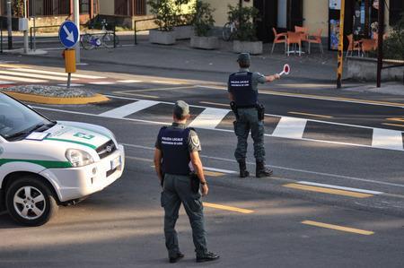 traffic police: monitoring police Safety Camera