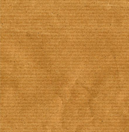 Blank sheet of brown paper useful as a background Stock Photo - 5294884