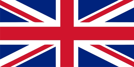 Flag of the United Kingdom (Union Jack) vector Vector