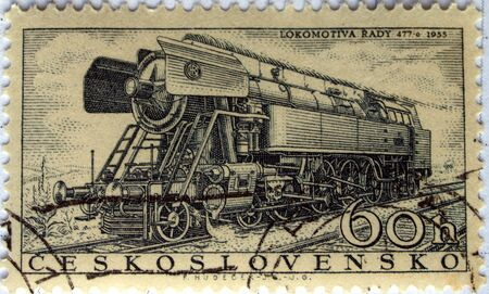 morava: Czech Republic mail postage stamps