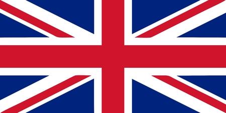 drapeau angleterre: Union Jack - britannique indicateur illustration vectorielle isolé