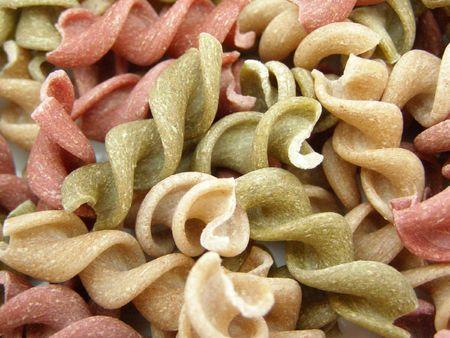 tricoloured: tricoloured pasta